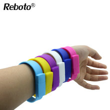 Color silicone bracelet USB Stick 4GB 8GB 16GB 32GB 64GB USB Flash Drive Pen Drive Stick wristband U disk Pendrives(China)