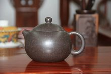 Chinese tea set yixing teapot Black mud XI SHI  puer tea pot 213 ml