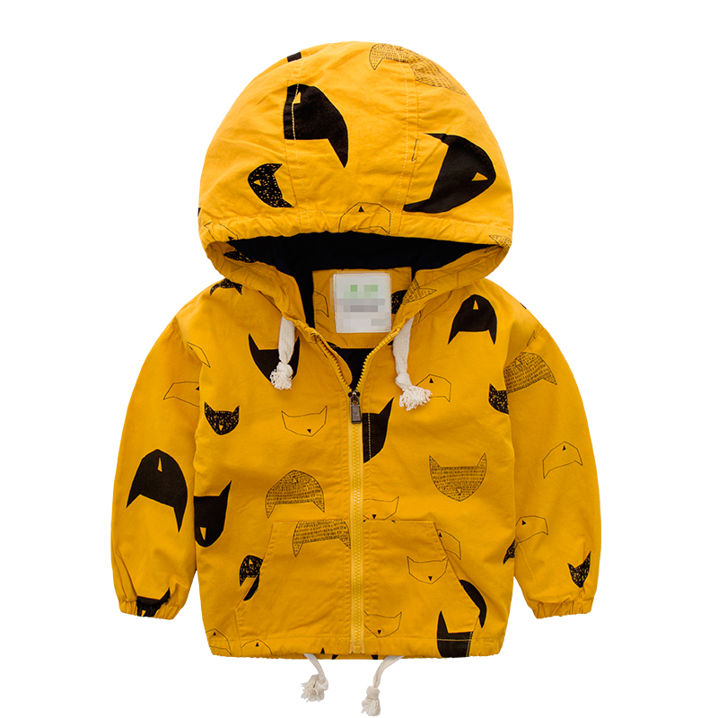 boys jacket,children jacket,child with a hood outerwear  childrens clothing cartoon baby zipper sweater autumn 100%  cotton<br><br>Aliexpress