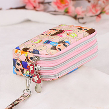 Practical Girls Loved Coin Purse Clutch Wristlet Wallet Bag Phone Key Case Makeup Bag Women Credit Card Holder Tote