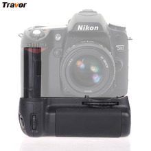 Professional Vertical Battery Grip Holder for Nikon MB-D80 D90 DSLR cameras as MB-D80 and Gift The Universal Remote Control(China)