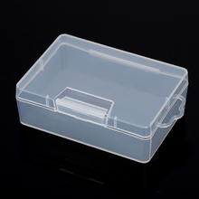 High Quality 1PC Plastic Portable Transparent Clear Collection Storage Case Container Box For storing reloads XN562