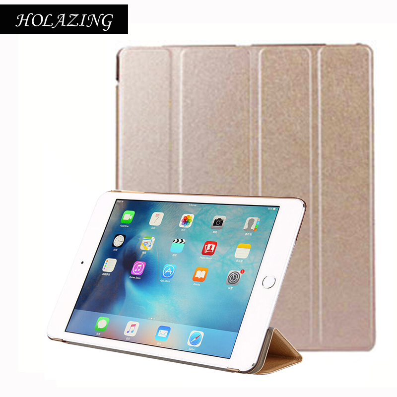 Trifold Magnetic Smart Cover For iPad 2 3 4 Premium Quality Folding Design Ultra-thin PU Leather Case For iPad3 Auto On/Off