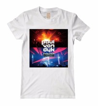 6 kinds Harajuku Paul van Dyk Brand Dubstep men DJ master shirt mma print Cotton Music fitness skateboard  Ropa Mujer