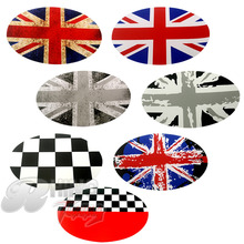 1PC Mini Cooper Clubman F54 Car Petrol Diesel Fuel Tank Petrol Diesel Fuel Tank Gas Cap Cover Union Jack Vinyl Sticker Decal