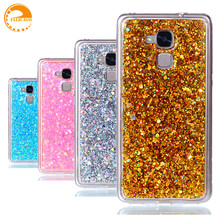For Case Huawei Honor 5C Cover Soft TPU Diamond Glitter Mobile Funda Coque Capa Phone Case For Huawei Honor 7 Lite / GT3 case