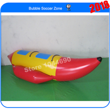 Free shipping 3.3*1.2m water banana boat for sport games