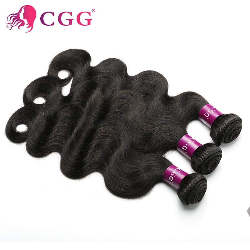 CGG Human Hair Products Indian virgin hair body wave 7A Grade Indian body wave 100% unprocessed virgin human hair weaves 3Pcs<br><br>Aliexpress