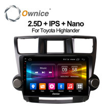 Ownice C500+ 32G ROM Octa core support 4G sim card Android 6.0 Car DVD Multimedia Player for Toyota HIGHLANDER 2008-2013 GPS(China)