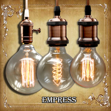 G125 G95 G80 edison bulb 110/220V dimmable ampoule Vintage Light Blub Lampada Light Incandescent Filament Bulb Retro edison Lamp