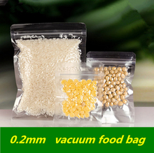 Vacuum Zipper Reclosable Clear Vacuum Pack Bags Thicken Vacuum Zip-lock Electronic Products Cold Storage Food Cosmetics Pouches