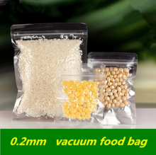 Vacuum Zipper Reclosable Clear Vacuum Pack Bags Thicken Vacuum Zip-lock Electronic Products Cold Storage Food Cosmetics Pouches(China)