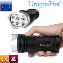 Super Brightest UniqueFire High Power Flashlight 5 Modes 4000 Lumens 1404 4*CREE XP-L LED Flashlight Torch For Camping Hiking
