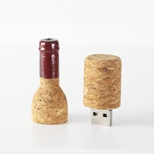 Red Wine Bottle USB Flash Drive 64GB USB3.0 Pen Drive 32GB Mini Usb Key Memory Stick Pendrive 8GB 16GB Gift 128GB 256GB 512GB