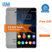 OUKITEL U16 Max 4G Mobile Phone 6.0 inch Android 7.0 MTK6753 Octa Core 3GB RAM 32GB ROM Fingerprint ID 13.0MP 4000mAh Cellphone(China)