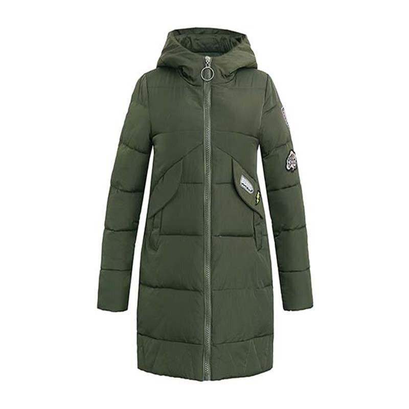 2017 Womens Winter Jackets And Coats Winter Parka Women s Cotton Coat Long Paragraph Leisure - Padded Jacket Hooded Thick Warm Îäåæäà è àêñåññóàðû<br><br>