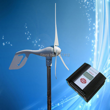 400W 12V Wind Turbine; 400W Wind Power Generator Kit + PWM Wind Solar Hybrid Controller (400W Wind, 150W Solar)(China)