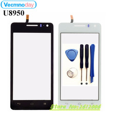 Vecmnoday Touchscreen For Huawei U8950 G600 U9508 White/Black Touch Panel Touch Screen Digitizer Glass Lens+tools