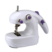 1pc New High Speed Mini Electric Portable Desktop Sewing Machine Hand Held Household free shipping wholesale A10(China)