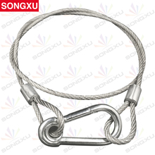 SONGXU 10pcs/lot 4mm 85CM stage light safety cable safety rope for beam moving head light dmx par light/SX-SR85CM