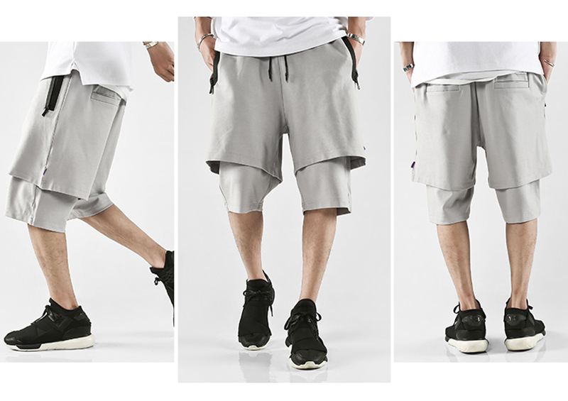 Body Engineers Baggy Mens Long Cargo Shorts Hip Hop (12)