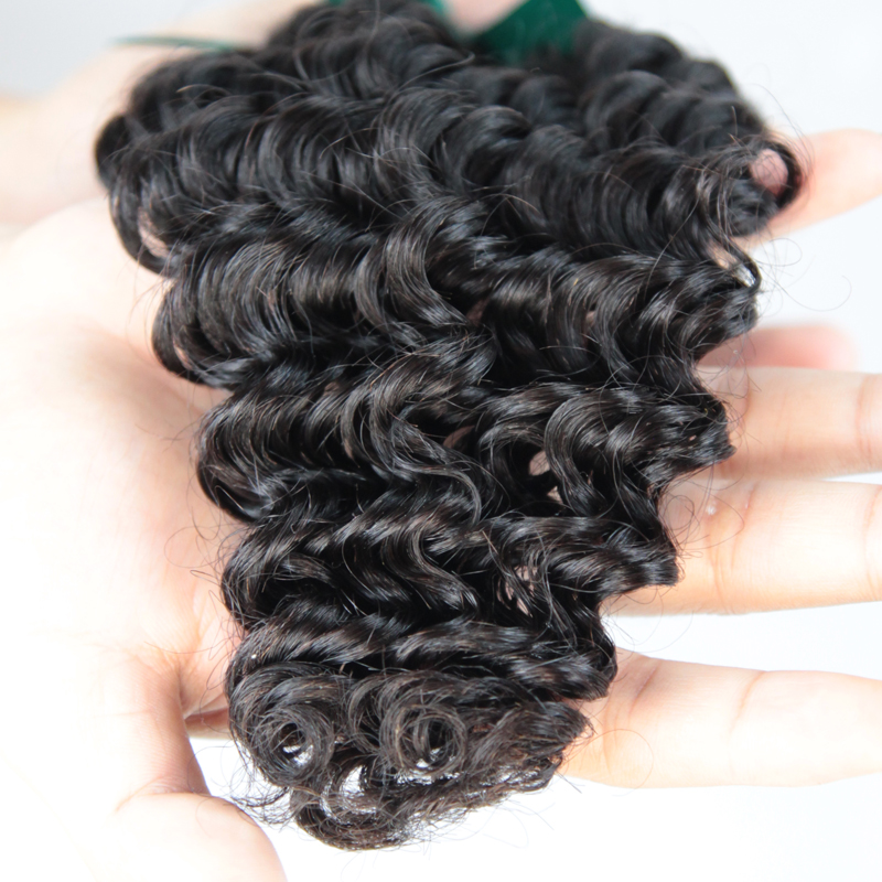 human remy hair  deep wave