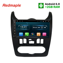 "9""HD 1 Din Android6.0 Car Radio GPS Navigation Multimedia Stereo Headunit For Renault Duster/Logan/Sandero Auto DVD Player Video(China)"