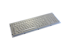 Metal Kiosk Keyboard Metal computer keyboard