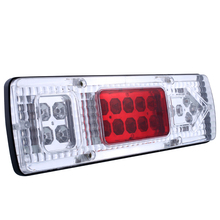 Vehemo 2x 12V 19 LED Energy Saving Truck Trailer Caravan Van Lorries Rear Tail Reverse Light Indicator Waterproof Lamp