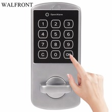 1 Set Door Lock Keypad Password Key Access Lock Cabinet Coded Locker Touch Digital Electronic Security Door Locke New Arrival(China)