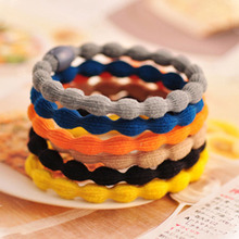 2017 Limited Special Offer Hair Accessories Wholesale Candy Color Elastic Ring Simple Lotus Root Rope Shop Freeshipping New