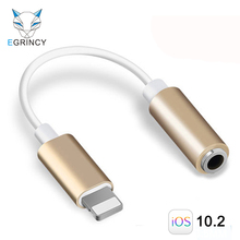 Audio Cable Adapter For iPhone 7 To 3.5mm Female Earphone Headphone Jack Converter For iPhone 6 6s 7 7 Plus AUX Connector Cable