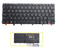 Brand New US Keyboard Backlight For DELL XPS 13 9343 xps13 9350 15BR N7547 N7548 17-3000 laptop keyboard no frame