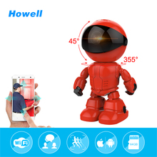Howell 960P 1.3MP baby monitor HD Wireless IP Camera wi-fi Robot camera Night Vision surveillance Camera IP Network CCTV Camera