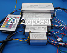 10W 20W 30W 50W 100W RGB LED Driver 24 Key Remote For RGB LED lamps Floodlight Spotlight