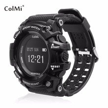 Buy ColMi T1 Smart Watch OLED Display Heart Rate Monitor Waterproof Push Message Call Reminder Android iOS Phone for $37.43 in AliExpress store