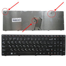 New Russian RU Laptop Keyboard for IBM LENOVO Ideapad G780 G780A G770 G770A Series Black