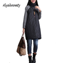 2017 Plus Size Autumn Winter Women Dress M-3XL Turtleneck Casual Loose Patchwork Robe Cotton Soft Black Gray Red Tunic Vestidos(China)