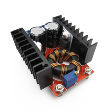 150W boost module DC-DC car notes power 10-32V to 12-35V adjustable