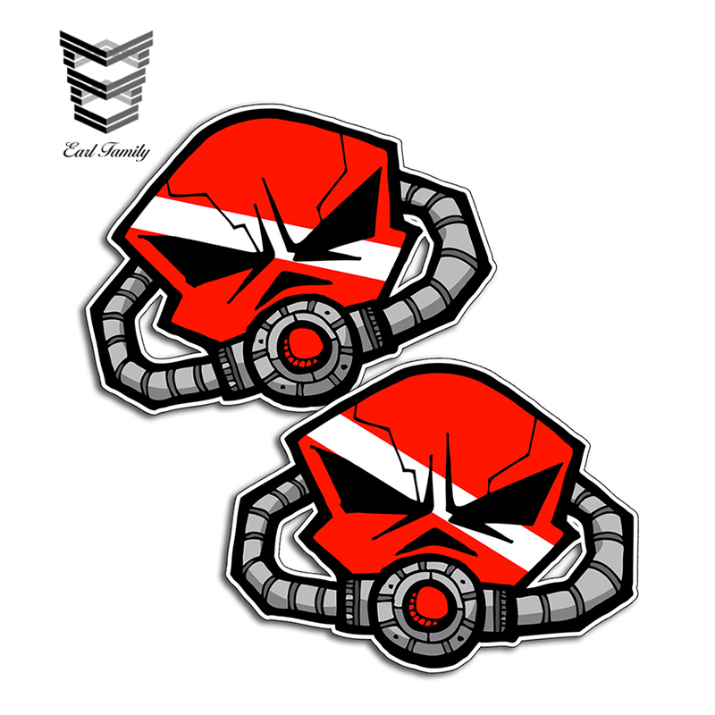 """Ideal travel trailer side decals red 15/"""" long die cut Set of 2"""