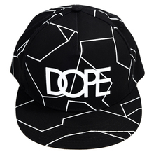 Black Stylish Capital Letter Shape and Irregular Stripe Design Baseball Cap For Men(China)