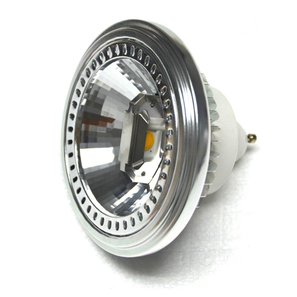 AR111 COB LED Spotlight GU10 Light Bulb 15W 85- 265V Warm /Cold white Aluminum 60D Beam for Home Commercial Lighting 2pcs/lot<br><br>Aliexpress