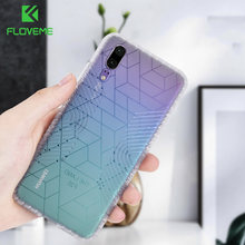 FLOVEME Shockproof Phone Case For Huawei P20 Lite Soft TPU Case for Huawei Mate 20 P30 Lite P20 P30 Pro Cover Cases Funda Coque(China)