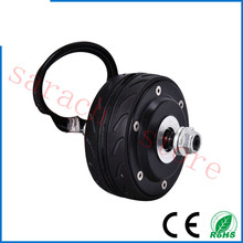 free shipping   80W 36v  4 inch double  shaft  electric scooter motor , electric hub motor for scooter , electric bike kit