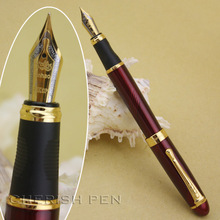 Jinhao x450 Luxury Executive Rose and Golden B Fine Nib Ink/Gold/Metal/Gift/Steel/Fountain Pen Twist Free Shipping Pens