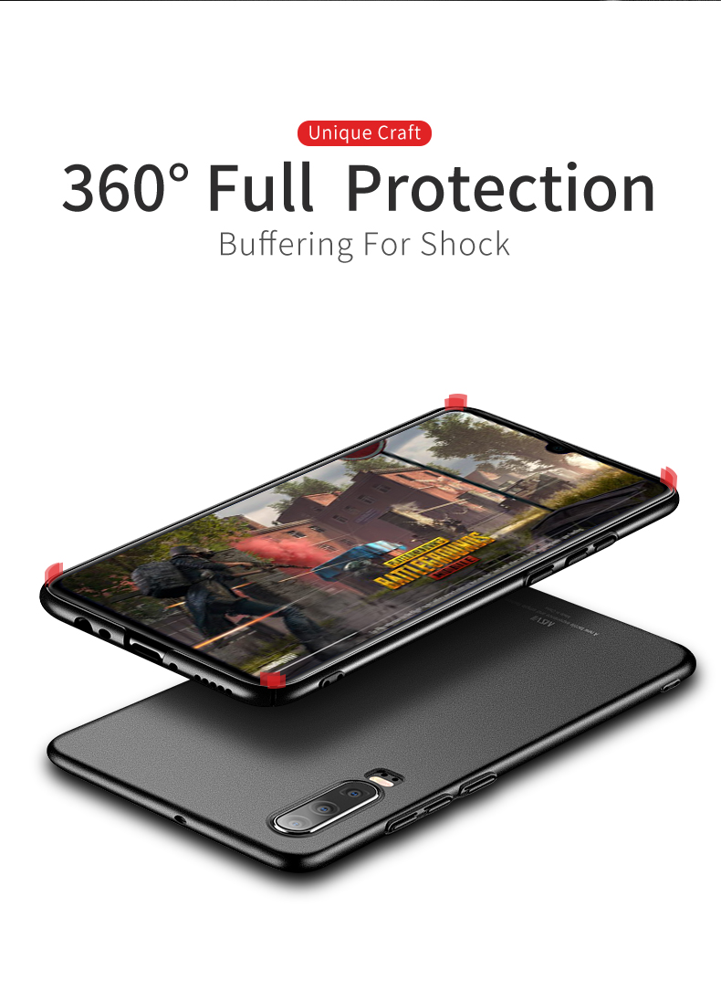 Huawei P30 Case for Huawei P30 Pro Case Hard P30 Lite Cover Slim Matte Back Cover Fingerprint Proof Fundas     (10)