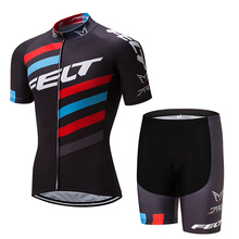 2017 new FELT Cycling Jersey Set Short Sleeve Ropa Ciclismo Bike Clothing Bicycle Clothes With BIB Pants Shorts For MTB