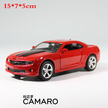 1:32 High Simulation Pull back Model Toy Diecast Model Sports car Chevrolet CAMARO Vehicle Model Alloy Car toys For children