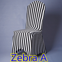 office chair covers for plastic chairs zebra print top quality  lycra spandex stretch banquet chair cover for wedding decoration