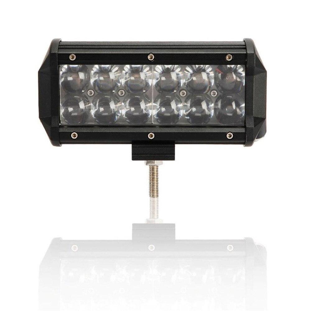 Car Led Light Bar 7inch 36W 4D led Work Lights Flood Spot Beam For Jeep Car Truck ATV SUV LED Off Road Driving Work Light Bar<br>
